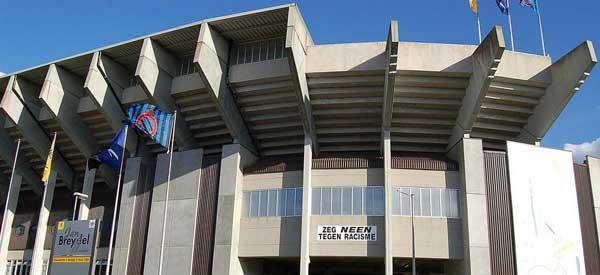 Exterior of Jan Breydel Stadion