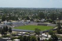 Aerial view of Jardines Del Hipodromo Stadium