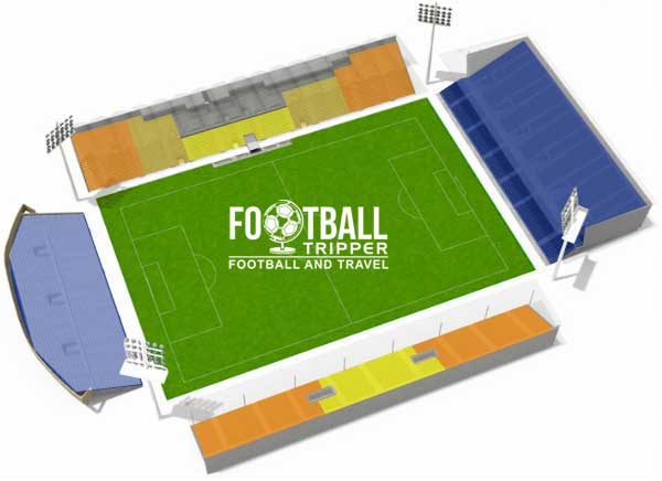 jean bouin angers Seating Plan