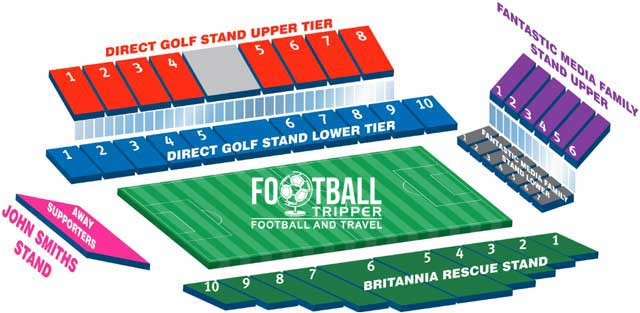John Smiths Stadium Seating Plan Huddersfield
