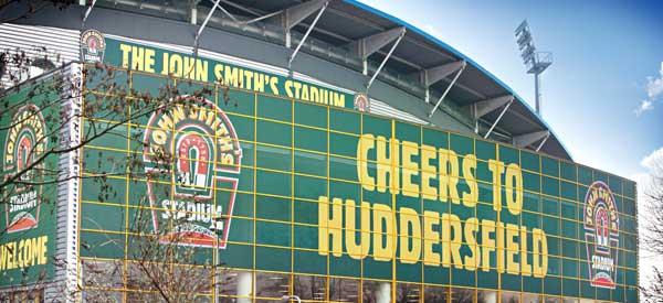 John Smith's Stadium advertising