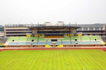 The main stant at Jurong West Stadium