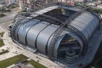 Aerial view of Kadir Has Stadium