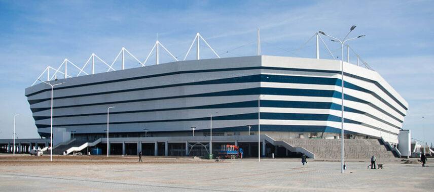 Exterior view of Baltika Kalingrad Stadium