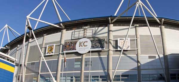 Exterior of KC Stadium
