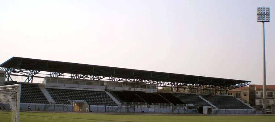 Kerkyra Stadium main stand