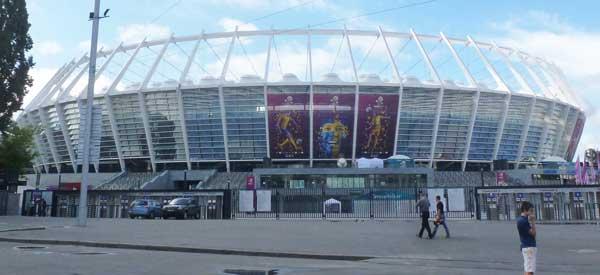 Kiev's Olympic stadium euro 2012