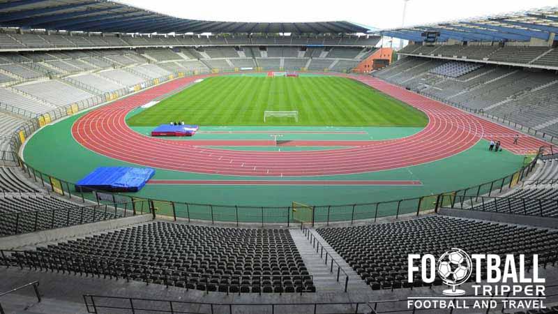 King baudouin stadium brussels belgium football tripper for Stand belgique