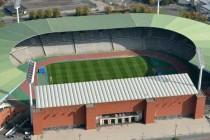 Aerial shot of the King Baudouin Stadium