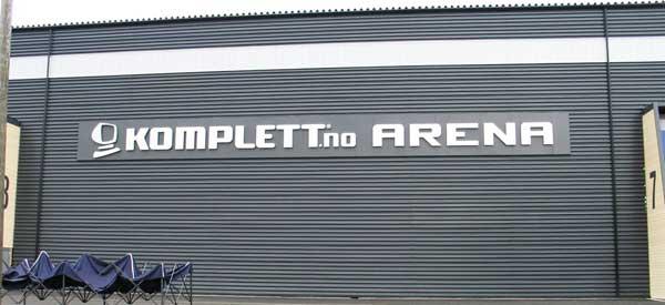 Komplett Arena Sign