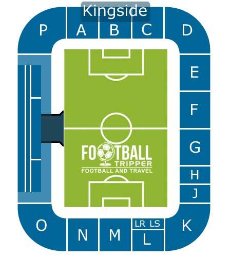Koning Willem II Stadion map
