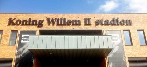 Koning Willem Stadium II exterior