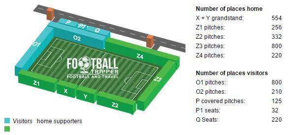 Gemeentelijk Sportcentrum seating plan