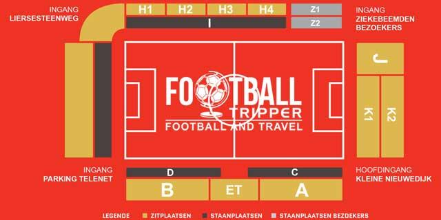 AFAS Stadion plan