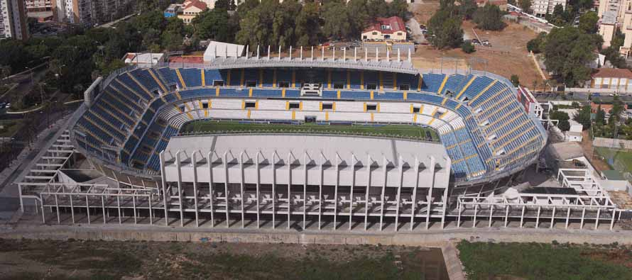 Aerial View of La Rosaleda