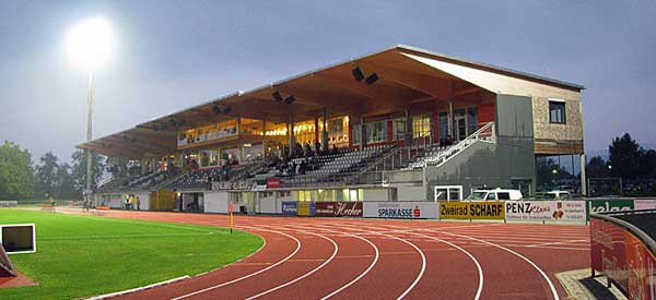 Main stand of Lavanttal Arena