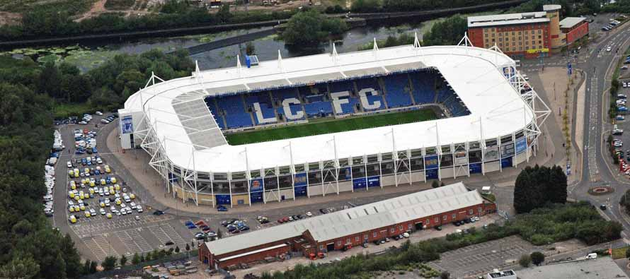 Aerial View of King Power Stadium