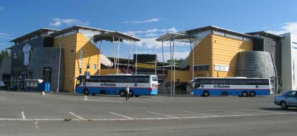 Exterior of Lerkendal Stadium