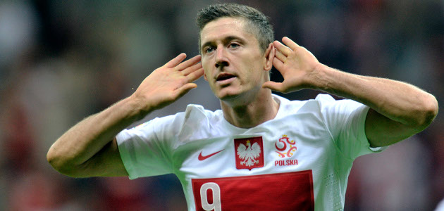 It's a tall task, but Robert Lewandowski will hope to put Poland on his back to help them get (at least) through the group stage.