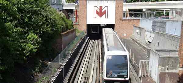 Lille Metro Train