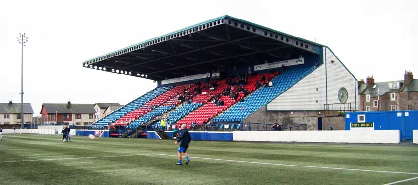 main stand of Links Park Stadium