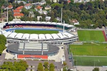 Aerial view of Linzer Stadion