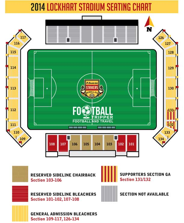 Fort Lauderdale Strikers Seating Chart