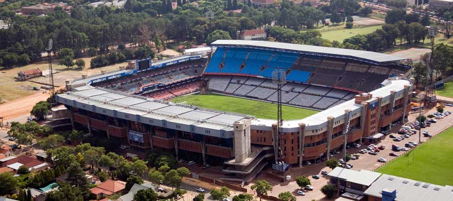 Aerial view of Loftus Versfeld Stadium