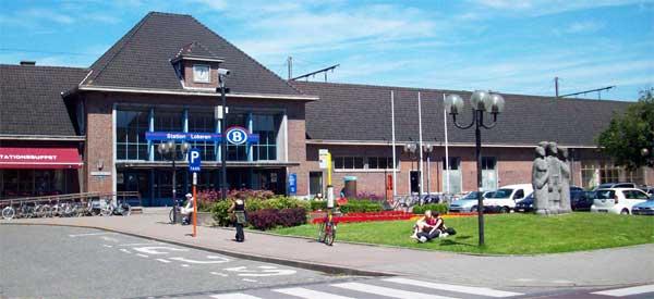 Exterior of Lokeren station