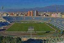 Overlooking view of Loro Borici Stadium