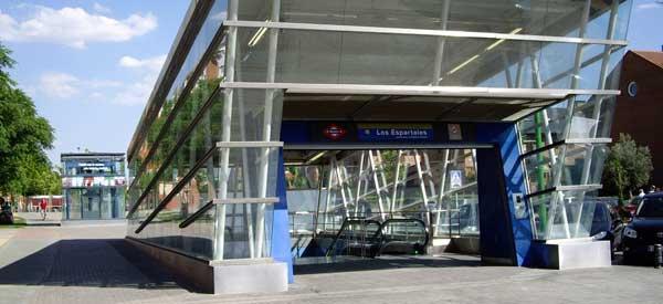 Los Espartales Metro Station