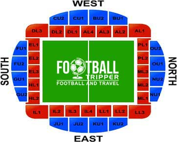 Macron Stadium Seating Plan