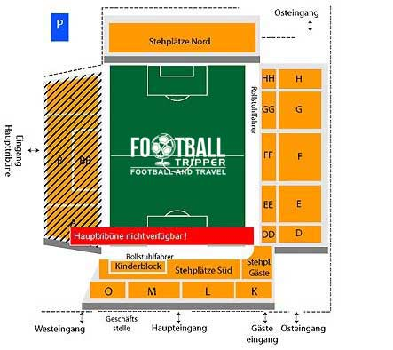 Mage Solar Stadion Seating Plan