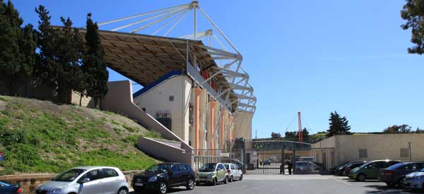 Ta' Qali National Stadium west stand