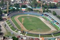 Aerial view of Mandala Stadium