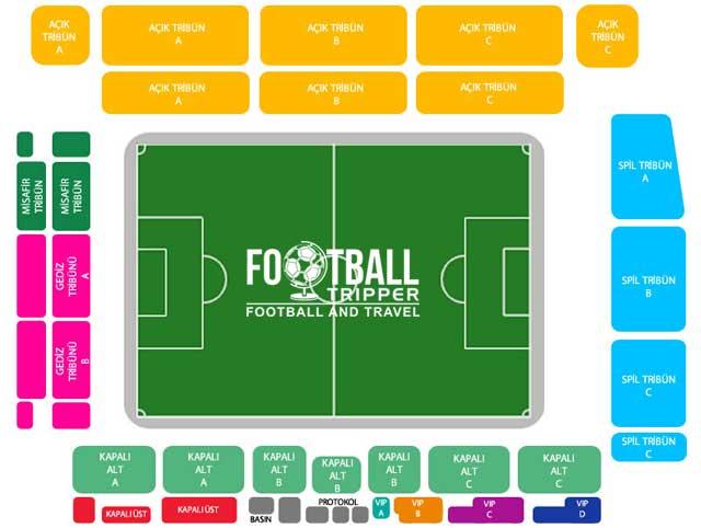 Manisa 19 Mayıs Stadium seating chart