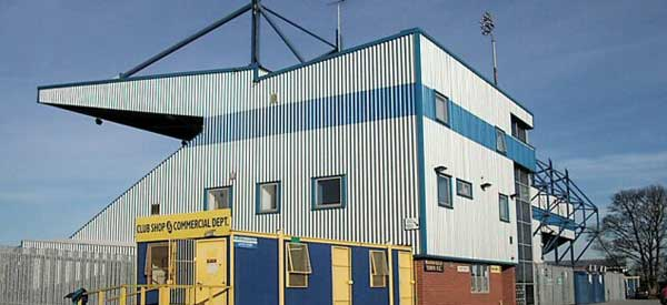 The exterior of Mansfields club shop