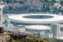 Maracana stadium and Christ the redeemer statue