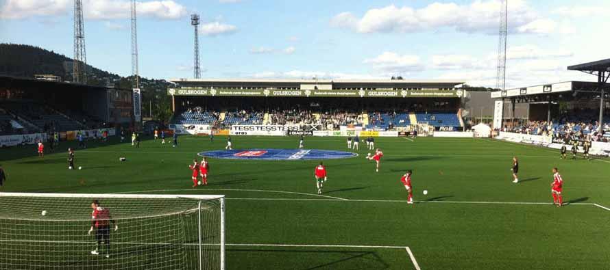 Inside Marienlyst Stadion