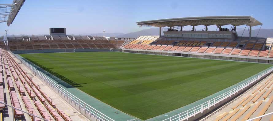 Inside Matsumo Football Stadium