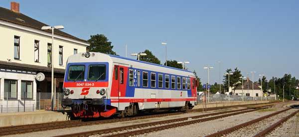 Main platform of Mattersburg