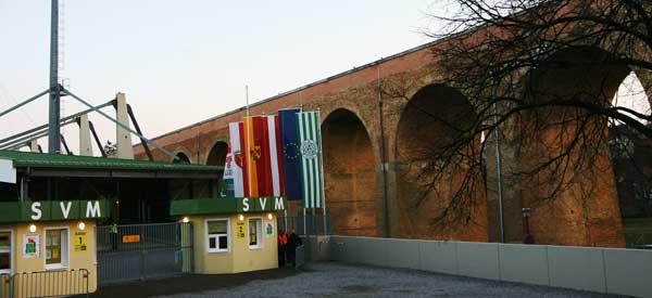 Entrance to Pappelstadion