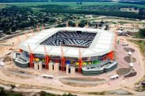Aerial view of Mbombela Stadium