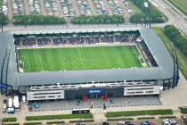 Aerial view of MCH Arena