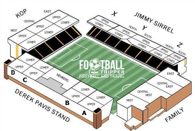 Meadowlane Seating Plan Nottingham