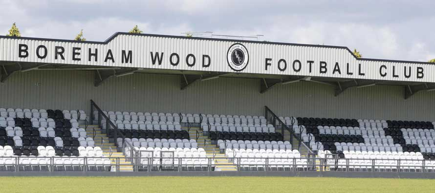 Meadow Park Stadium main stand