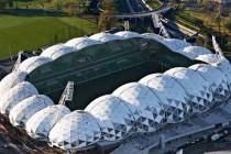 Melbourne Rectangular Stadium from above