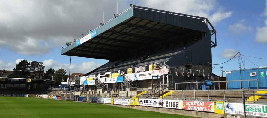 memorial stadium stand
