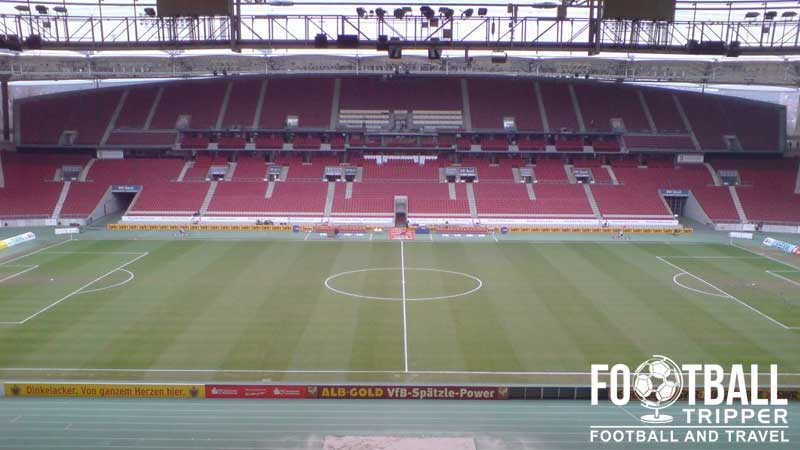 Mercedes benz arena vfb stuttgart guide football tripper for Mercedes benz stadium location