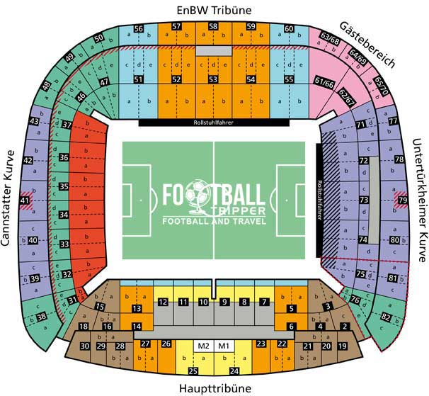 Mercedes Benz Arena Seating Plan